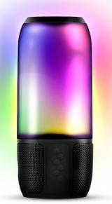 Caixa de Som Bluetooth Novik Light Show 8W Com Bateria e Iluminação