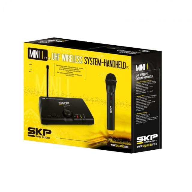 Microfone sem Fio SKP Pro audio Mini