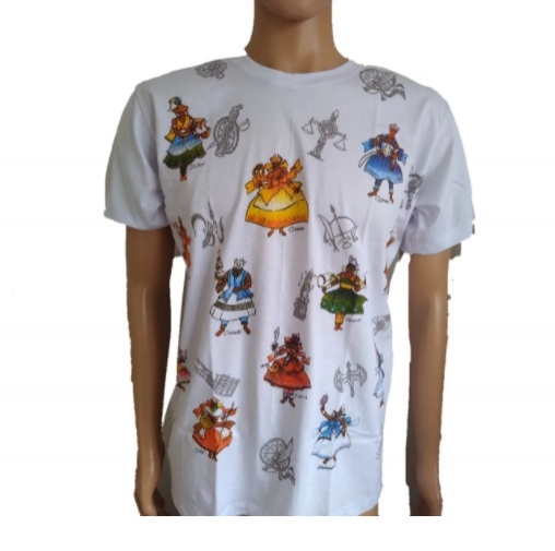 Camiseta 12 Orixas Algodão