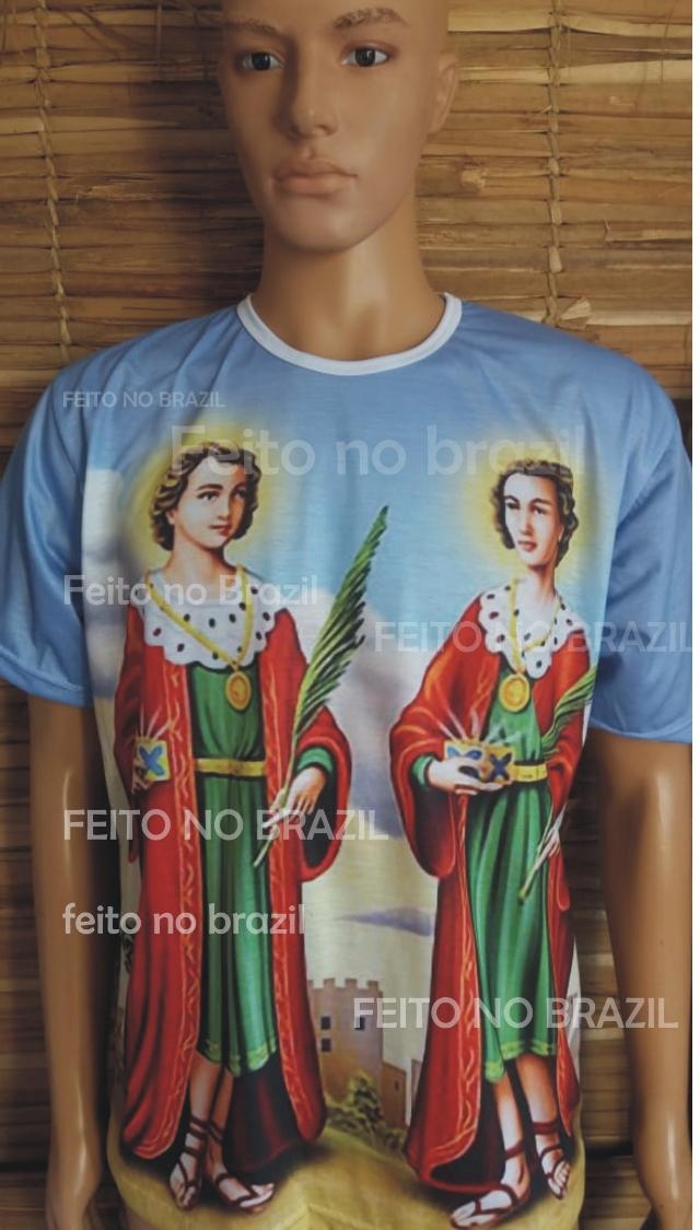 Camiseta São Cosme e São Damião