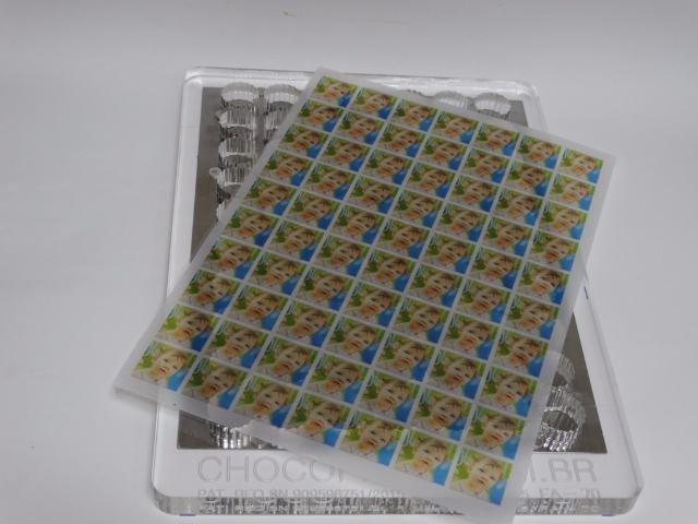 Forma Alpino 2,6 x 2,6 cm com 15 mm de espessura 70 bombons