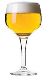 La Grisette Belgian Saison Beer com  suave sabor frutados limão, laranja, toranja, pêra e um toque de especiarias