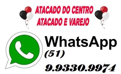ATACADO DO CENTRO E ARTIFESTAS JUNTOS / ATACADO E VAREJO / TUDO DE BOM PARA SUA FESTA E OU COMÉRCIO.