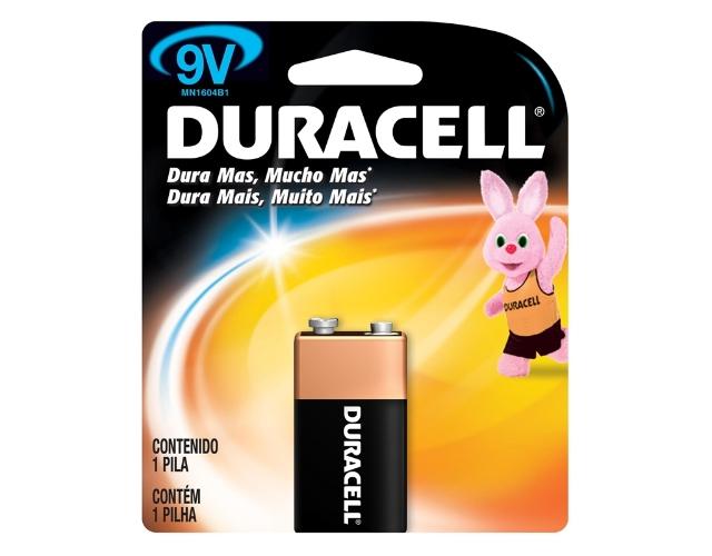 [ESGOTADO] Bateria 9V MN1604 Duracell