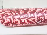 Metálico Geométrico Vermelho - 5 folhas - A4