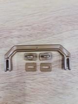 Kit Alça para maleta DOURADO - 10 unid