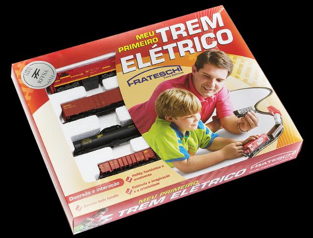 Conjunto Trem Cargueiro RFFSA # 6511 - FRATESCHI