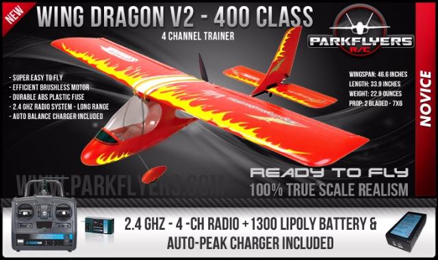 Ultraleve Wing-Dragon Sportster RTF # 22023 - ART TECH