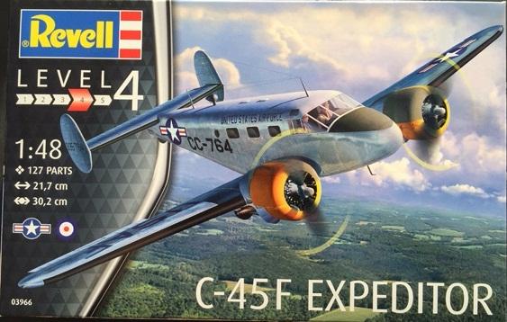 Beechcraft C-45F Expeditor 1:48 # 03966 - REVELL