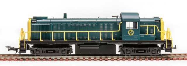Locomotiva RS-3 Central do Brasil # 3081 - FRATESCHI