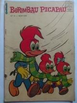 Berimbau Picapau 9 - setembro/1968 - Ed. O Cruzeiro