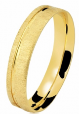 Aliança ouro 18k 4,0 mm Clamart