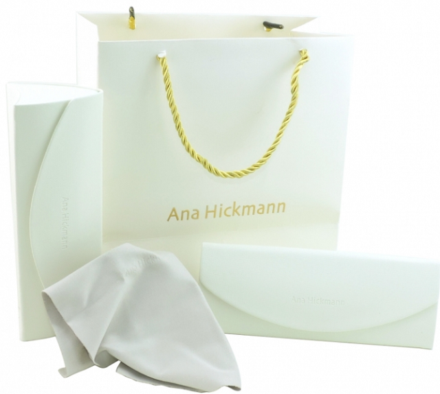 7d72b46a85c17 Armação P  Óculos de Grau Ana Hickmann AH6260 A01 por R 549,00