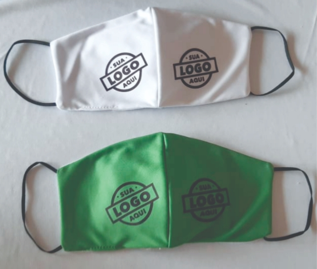 100 Máscaras de Proteção Individual - Logo Comércio e Empresas - R$ 5,99 cada.