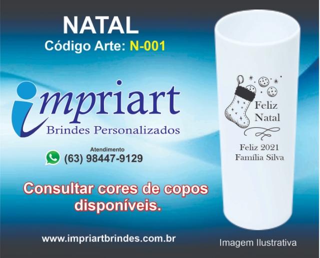 ARTE NATAL COPO LONGDRINK N-001