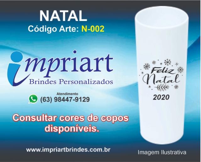 ARTE NATAL COPO LONGDRINK N-002