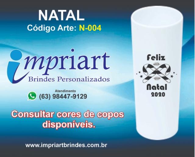 ARTE NATAL COPO LONGDRINK N-004