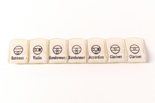 Jogo de Registros Todeschini Super 6 Branco Cód.454