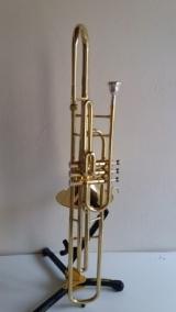 Trombone Schieffer sib Curto Laqueado