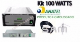 Kit 100 WATTS  SAM-100 Antena Plano Terra 0dB