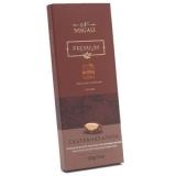 Tablete de Chocolate Premium ao Leite 45% Cacau com Castanhas-do-Pará Nugali 100 g (Cód. TAB-CPA) (Vencimento: 30/08)