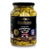 Pepino em Conserva para Hambúrguer Tipo Burguer Picklers (Receita Americana) Danimar 300 g (Cód. 212) (Vencimento 26/10/20)