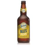 Cerveja Artesanal Estilo Puro Malte Tipo Pilsen Alles Pilsen 4,3% 500 ml Blumenau (Vencimento Nov/2020)