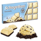 Chocolate Stracciatella (Branco com Lascas de Cacau) Schogetten 100 g (Cód. 402)