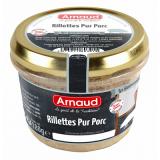 Patê Suíno com Carne Desfiada (Rilletes Pur Porc) Arnaud 180 g (Cód. 1814)