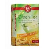 Chá Verde com Gengibre e Laranja (20 saquinhos) Teekanne 35 g (Cód. 889)