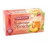 Chá Pêssego Mediterrâneo (20 saquinhos) Teekanne 50 g (Cód. 8906)