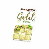 Chocolate Gold Pistachio Schogetten 100 g (Cód. 4021)
