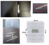 (A1.0) Album para 200 Moedas pequeno PVC 02 Arg.