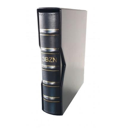 Álbum Super Luxo Azul MÉDIO CAPA+ESTOJO 3BZN Vazio Para Folhas 28x21,5cm