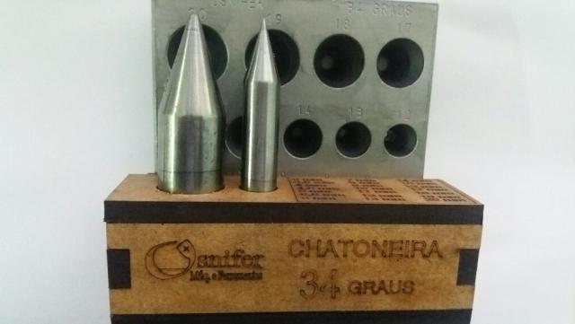Chatoneira Osnifer 34 Graus a ORIGINAL (Com 21 Furos e 2 Punções)