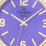 Relógio Feminino Analógico Champion CN27232D - Lilás/dourado