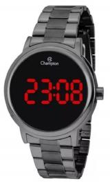 Relógio Digital Unissex Grafite Champion Ch40115C