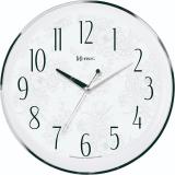 Relógio De Parede Redondo Branco  Herweg 6810-028