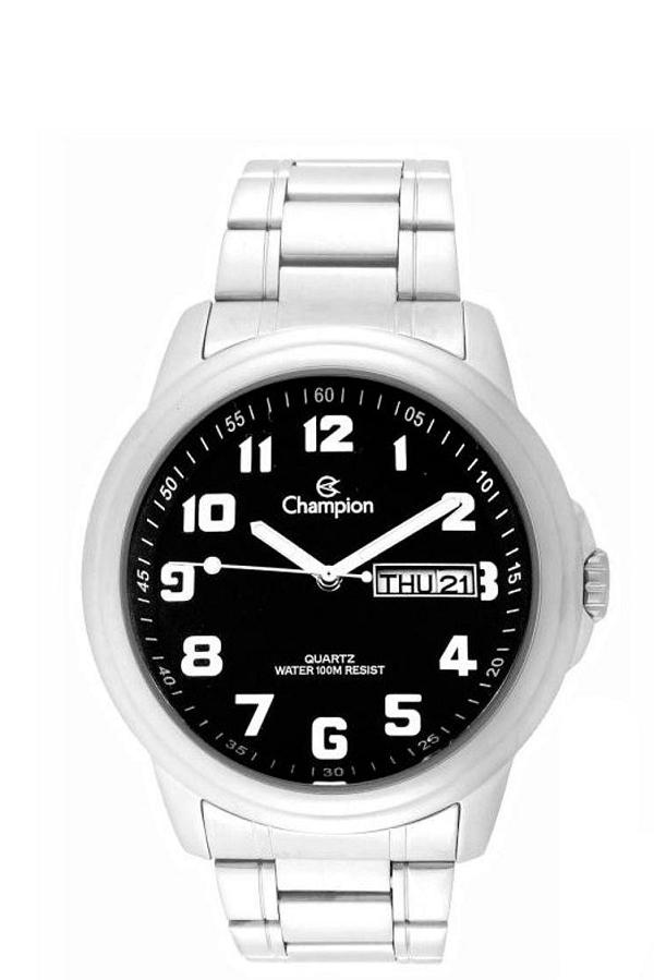 Relógio Champion  Masculino Analógico Preto Cód CA30927D