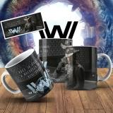 Canecas Temáticas Filmes e Séries - WestWorld