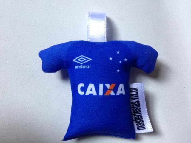 Chaveiro Camisa Cruzeiro