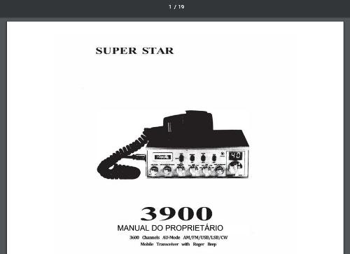 Manual em português por R$35,00