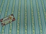 Tecido 100% algodão  - Floral Paris Azul 02 - Fabricart