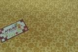 Tecido 100% algodão - Floral Paris Amarelo 05 - - Fabricart