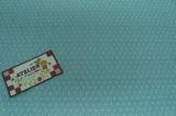 Tecido 100% algodão  - Floral Paris Azul 04 - Fabricart
