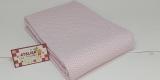 Tricoline 100% algodão - Estampa Chevron Rosa Claro