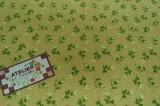 Tecido 100% algodão - Floral Paris Amarelo 01 - - Fabricart