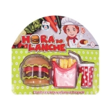 Kit Hora do Lanche Fast Food Lanche Feliz PI3885 - Pica Pau