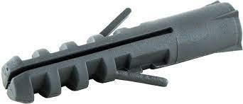 Bucha Plástica 12mm - pacote com 250 pçs