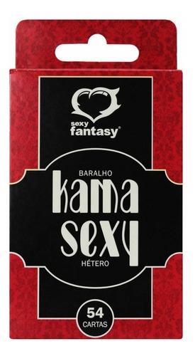 BARALHO KAMA SEXY 54 CARTAS - HÉTERO - 12184487